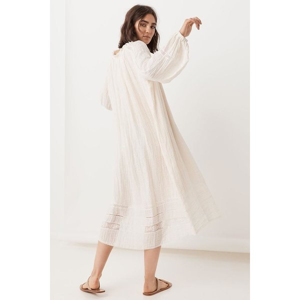 Spell Designs Spell Mila Gown Off White