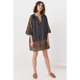 Spell Designs Spell Muwala Embroidered Tunic
