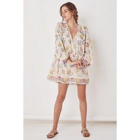 Spell Designs Spell Posy Long Sleeve Mini Dress