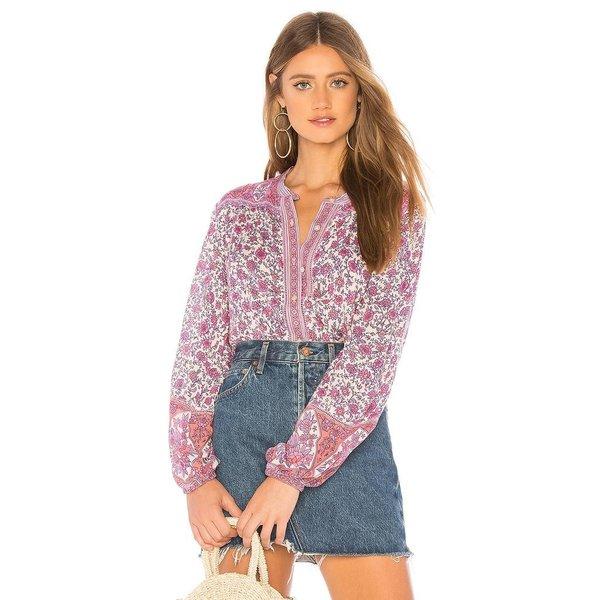 Spell Jasmine Blouse Lilac