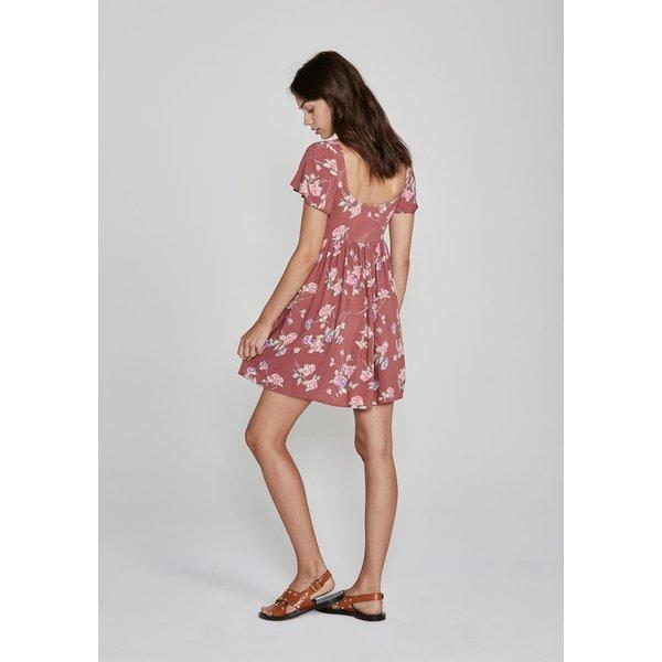 Auguste Auguste Rosa Belle Mini Dress Blush