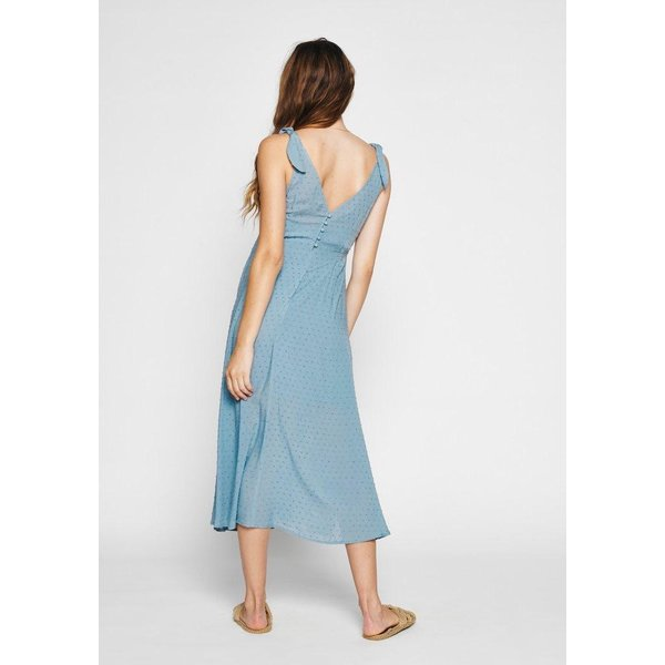 Auguste Auguste Coastal Midi Dress Blue