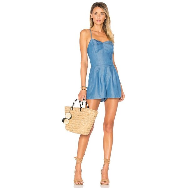 Lovers+Friends Lovers+Friends Anna Romper Ocean