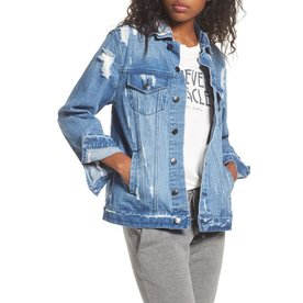 Spiritual Gangster I Am The Light Denim Jacket