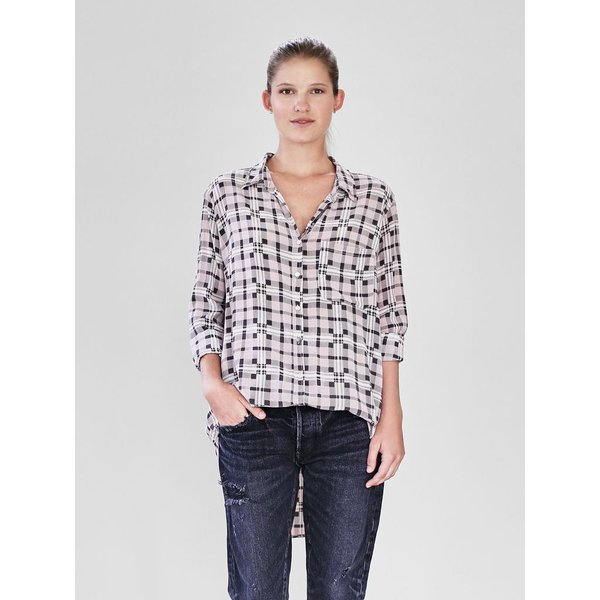Acacia Acacia Milos Cotton Silk Button Up