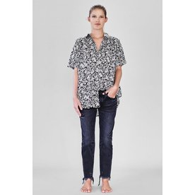Acacia Acacia Mombasa Cotton Silk Button Up