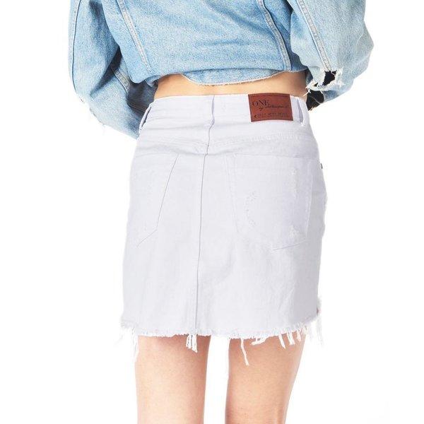 Oneteaspoon Oneteaspoon  White Beauty 2020 Mini Skirt