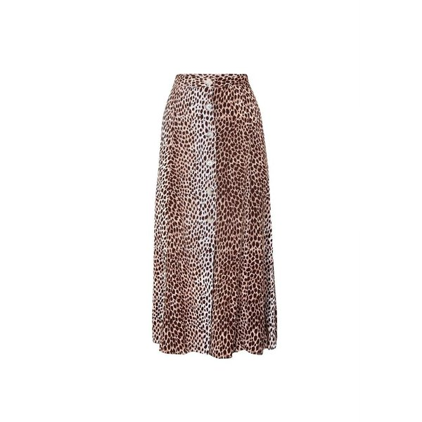 Auguste Auguste Nico Button Midi Skirt