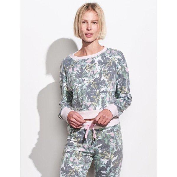 Sundry Sundry Palms Crop Sweatshirt