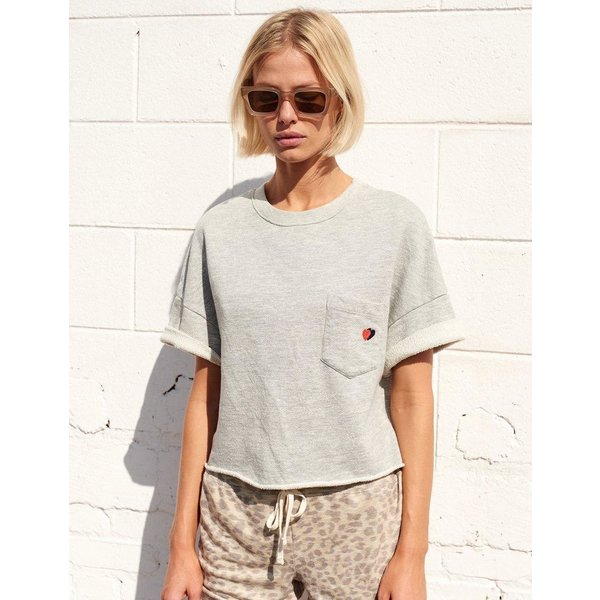 Sundry Sundry Double Hearton Pocket Tee