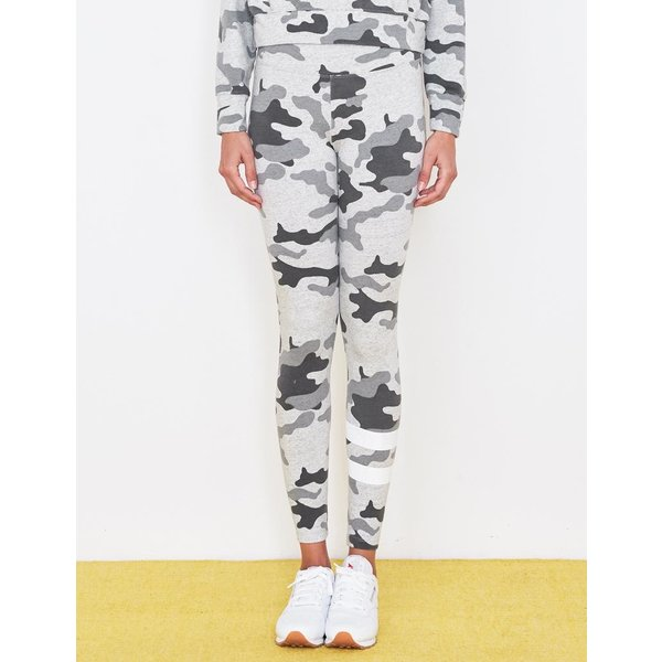 Sundry Sundry Stripe Camo Yoga Pants