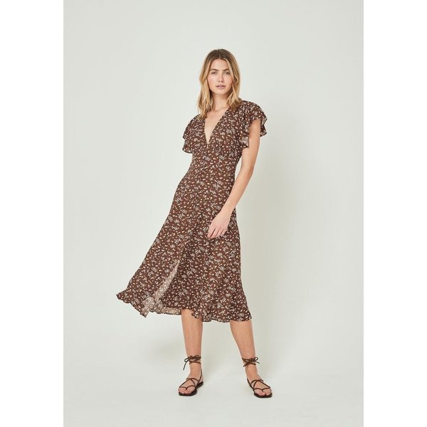 Auguste Auguste Cleo Sunday Midi Dress