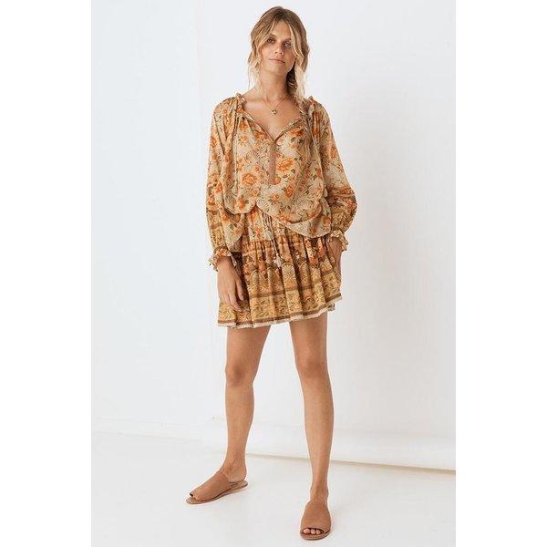 Spell Designs Spell Seashell Mini Skirt, Sand