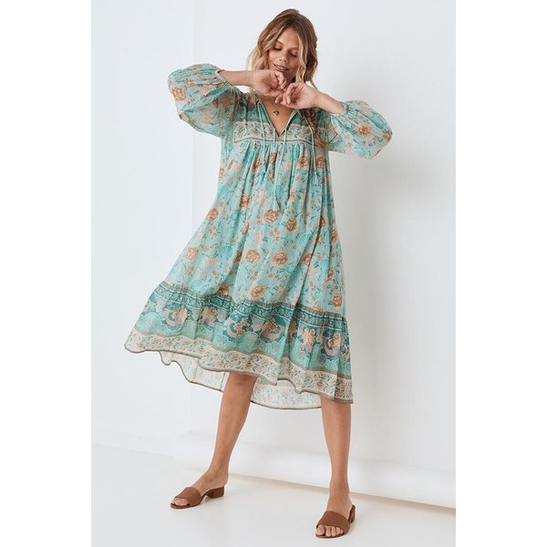 Spell Designs Spell Seashell Boho Dress