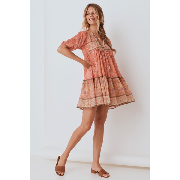 Spell Designs Spell Seashell Boho Mini Dress