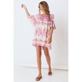 Spell Designs Spell Coco Lei Flutter Sleeve Tunic