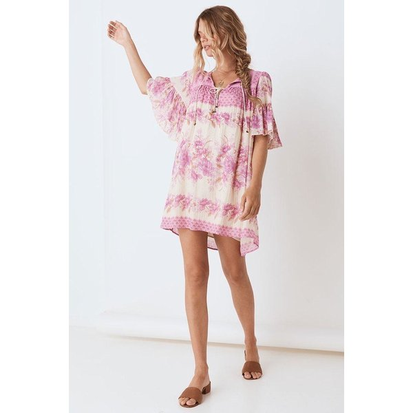 Spell Designs Spell Coco Lei Flutter Sleeve Tunic