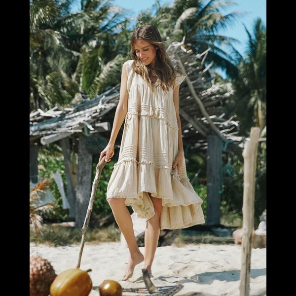 Spell Designs Spell Hanalei Midi Dress