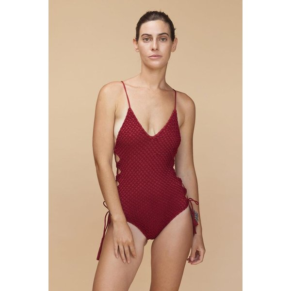 Acacia Acacia Florence Crochet Full Piece Swimsuit