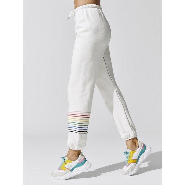 Sundry Sundry Rainbow Stripe Sweats