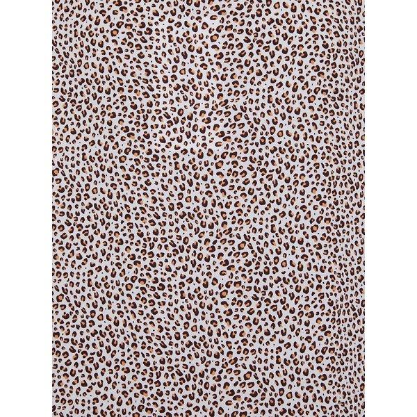 Kivari Kivari Indie Leopard Scoop Neck Maxi