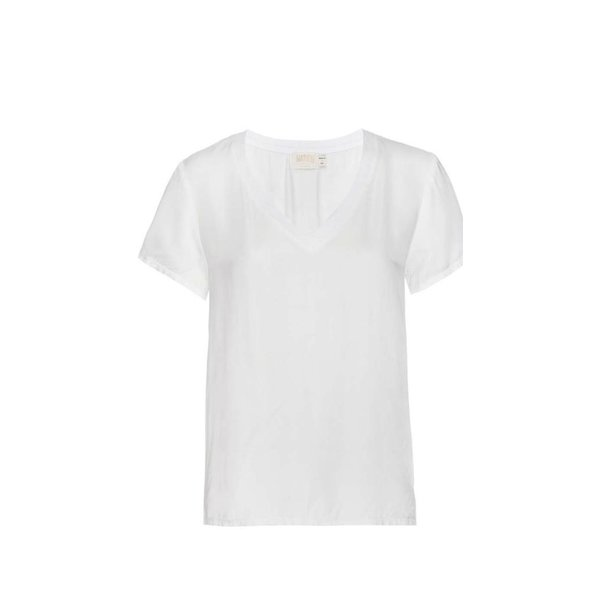 Nation Nation June Sateen V-Neck Tee