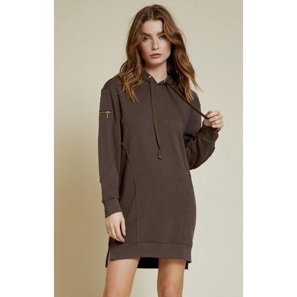 Nation Paz Seamed Hoodie Dress