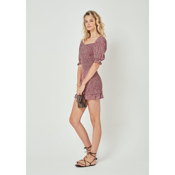 Auguste Auguste Marlowe Shirred Mini Dress