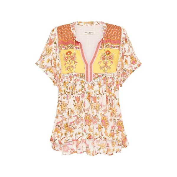 Spell Designs Spell Portobello Road Short Sleeve Blouse