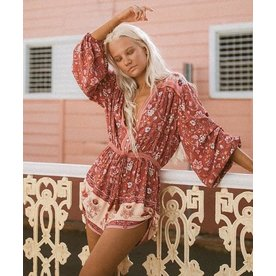 Spell Designs Spell Portobello Road Playsuit