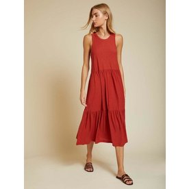 Nation Melissa Tiered Tank Dress