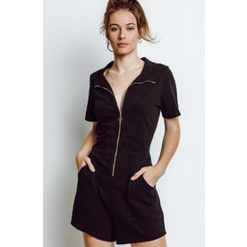Nation Nation Lex Zipped Utility Romper