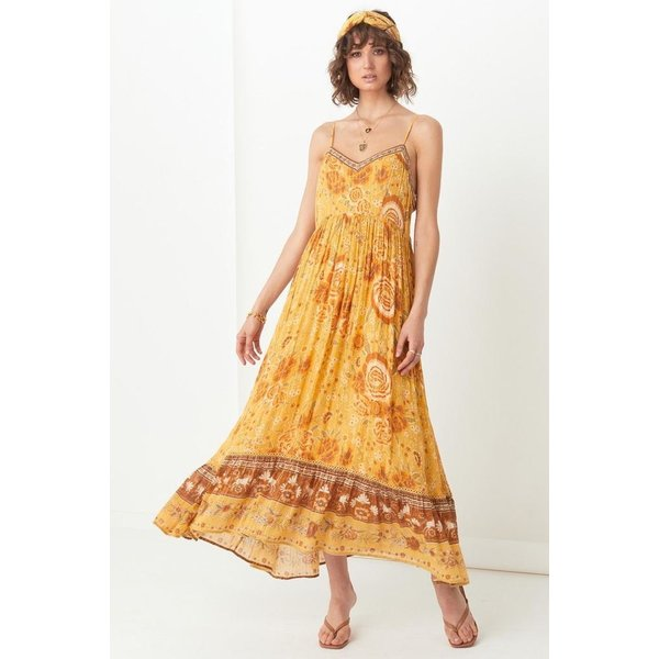 Spell Designs Spell Mystic Strappy Maxi Dress