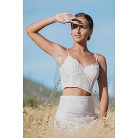 Spell Designs Spell Le Gauze Lace Bustier