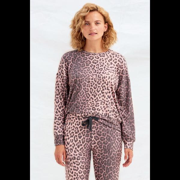 Sundry Sundry Animal Print Sweater