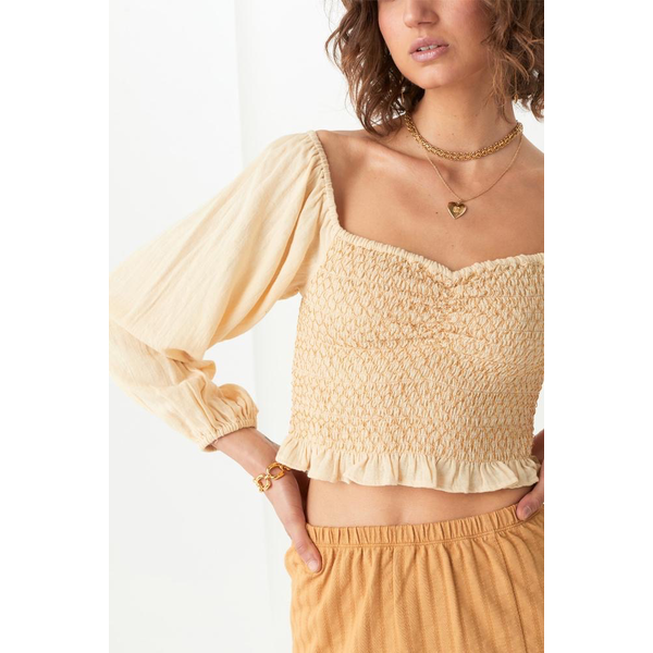 Spell Designs Spell Jesse Jane Cropped Blouse