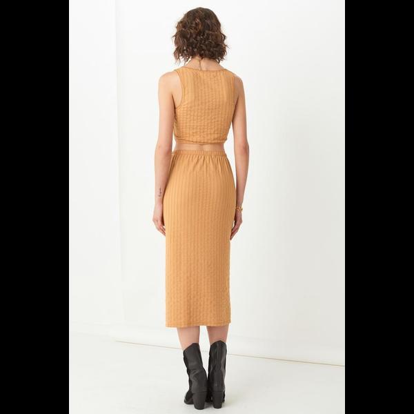 Spell Designs Spell Bonnie Organic Rib Midi Skirt