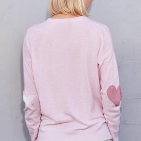 Sundry Sundry Star+Heart Sweater