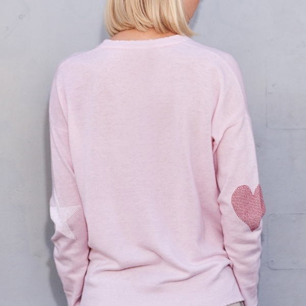 Sundry Sundry Star+Heart Sweater