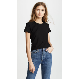 JAMES PERSE James Perse Sheer Slub Crew Tee