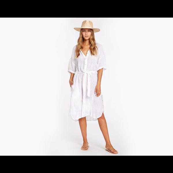 VITAMIN A Vitamin A EcoLinen Playa Dress