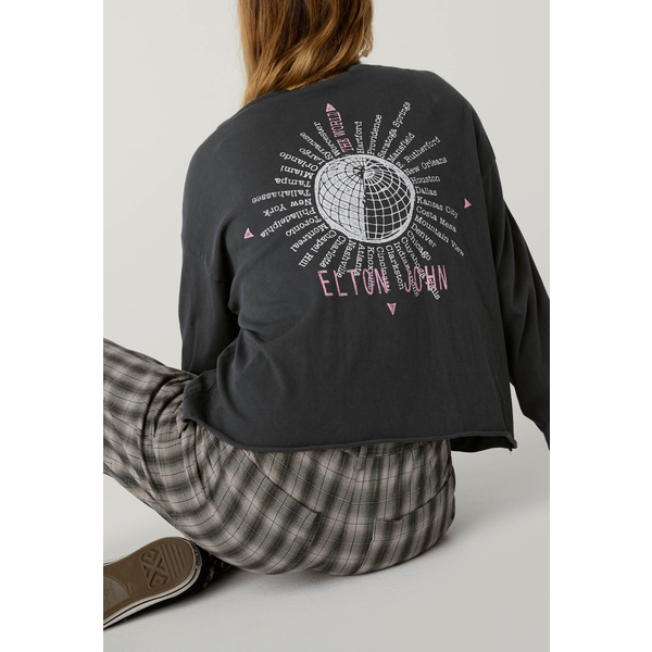 Daydreamer Daydreamer Elton John World Tour Long Sleeve Crop