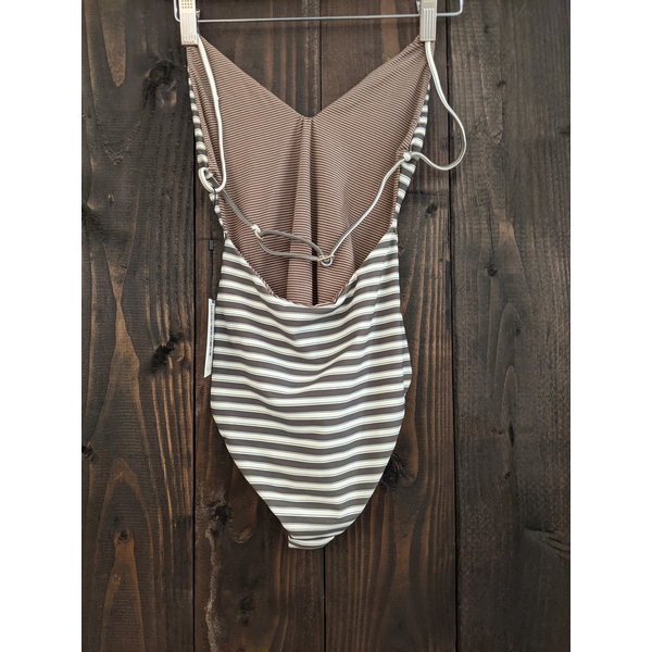 Acacia Acacia Grey One Piece Swimsuit
