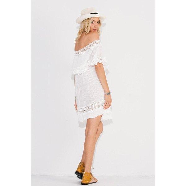 Jens Pirate Booty Jens Chiapas Mini Dress White