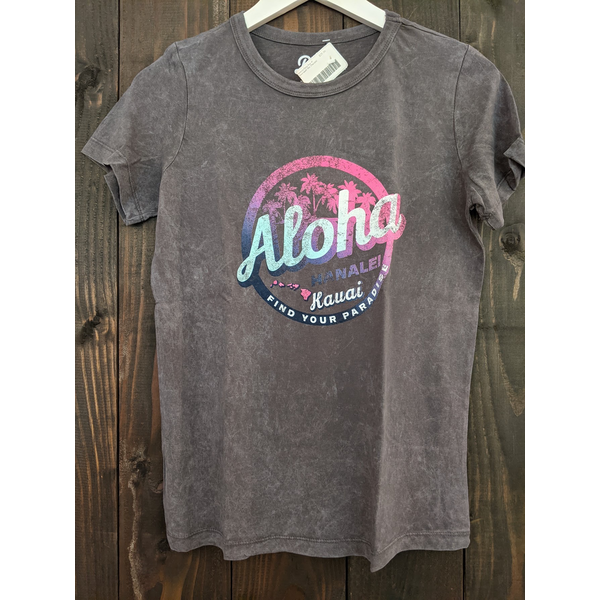 Lakeshirts Lakeshirts Party Bus Mineral Wash Tee