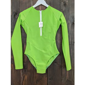Estrela do Mar Estrela Swim Shorebreak 1pc Long Sleeve Zipper