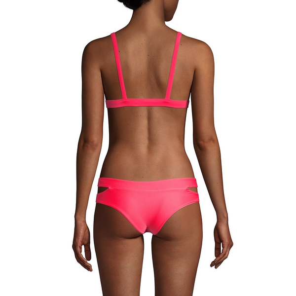 Mikoh Swimwear Mikoh Colombia Top Cutout Details