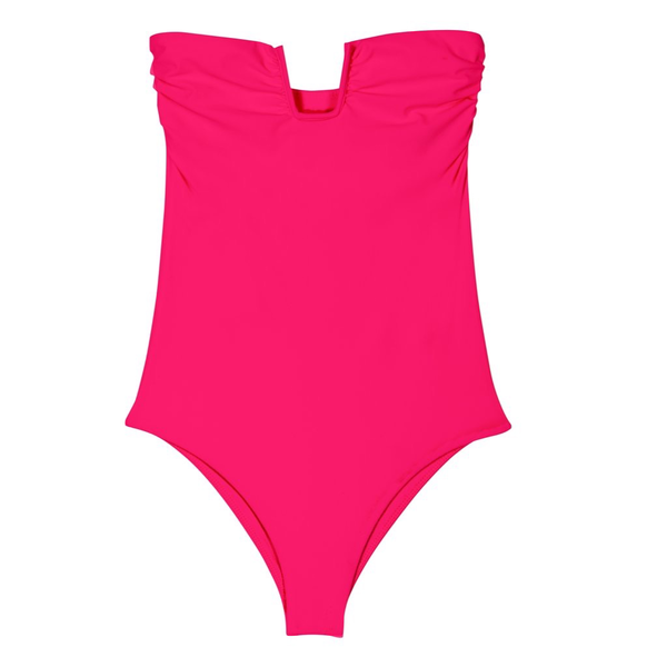 Mikoh Swimwear Mikoh Kanani One Piece Swimsuit U Ring Strapless