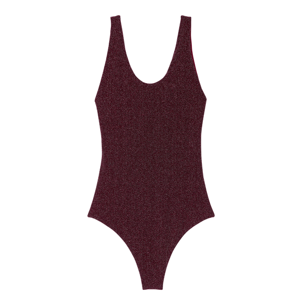 Mikoh Swimwear Mikoh Mala One Piece Swimsuit Metalic Basic