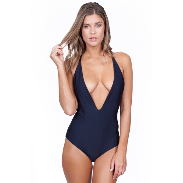 Mikoh Swimwear Mikoh Africa 1PC Low Cut Front Y-Back